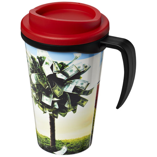 Coffee to go beker 350 ml dubbelwandig met handvat